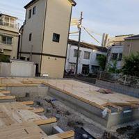 【1階床施工完了】某3階建てアパート1