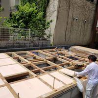 【1階床施工完了】某3階建てアパート3