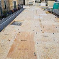 【1階床施工完了】某3階建てアパート4